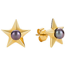 Buy Claudia Bradby Freshwater Pearl Star Stud Earring Online at johnlewis.com