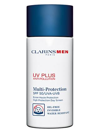 ClarinsMen UV Plus Multi-Protection Moisturiser SPF 50 , 50ml