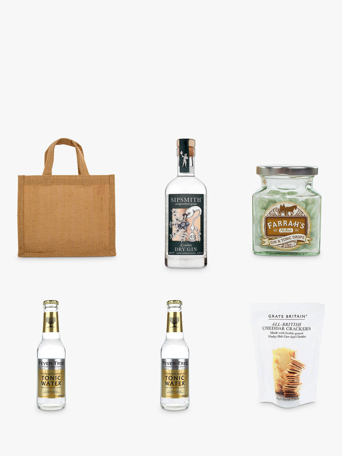BuyJohn Lewis & Partners Gin & Tonic Gift Online at johnlewis.com