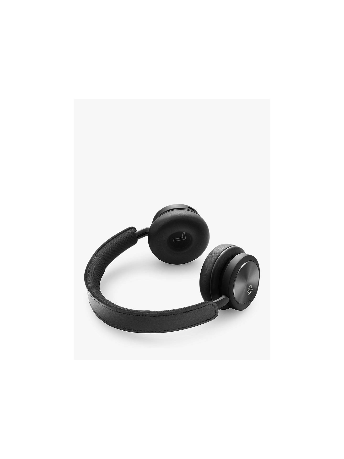 BuyB&O PLAY by Bang & Olufsen Beoplay H8i Wireless Bluetooth Active Noise Cancelling On-Ear Headphones with Transparency Mode, Black Online at johnlewis.com