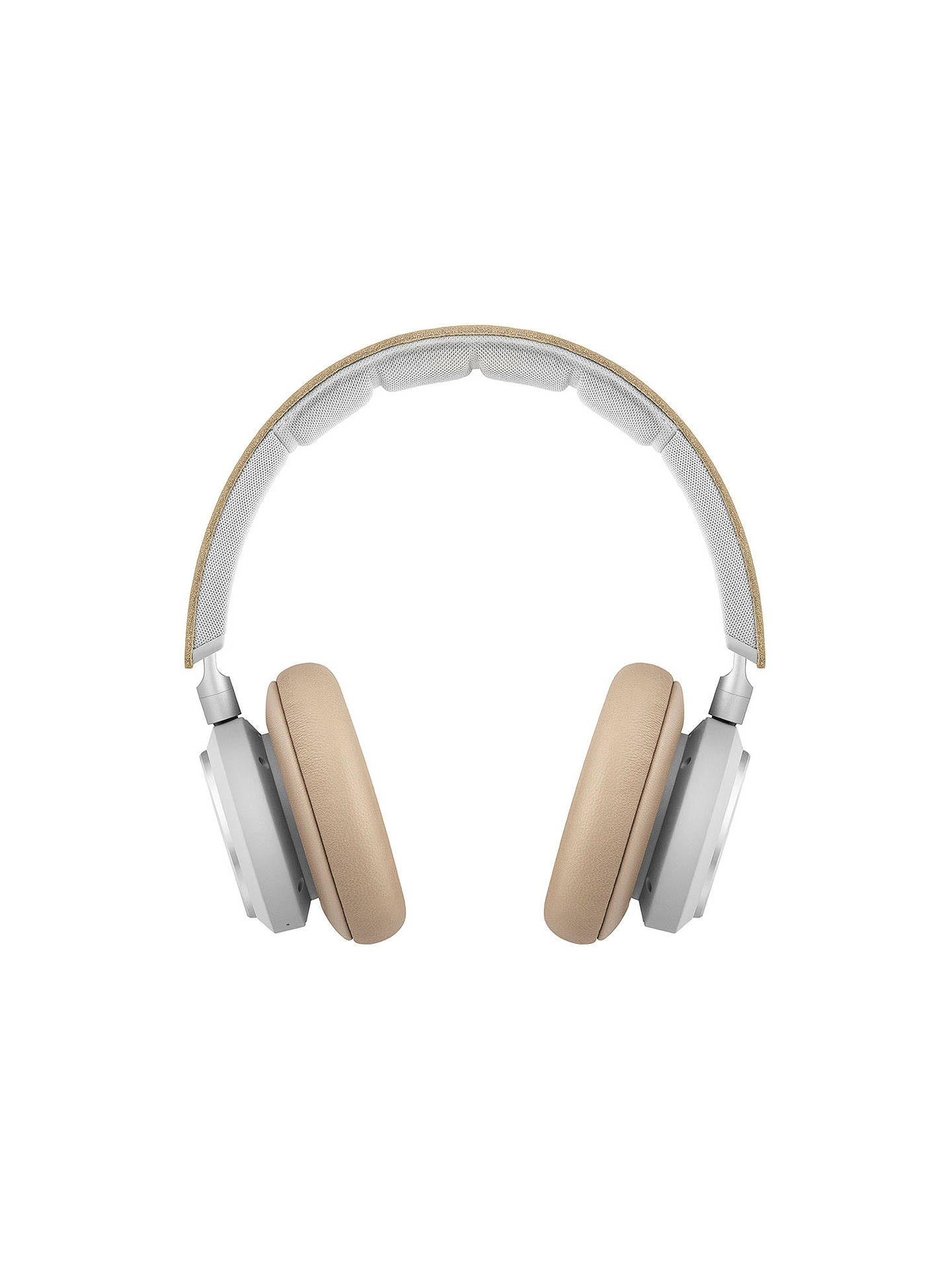 Buy Bang & Olufsen Beoplay H9i Wireless Bluetooth Active Noise Cancelling Over-Ear Headphones with Intuitive Touch Controls & Transparency Mode, Natural Online at johnlewis.com