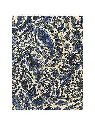 Spendlove Paisley Print Fabric, Blue