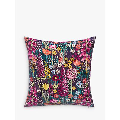 John Lewis Flora Velvet Cushion