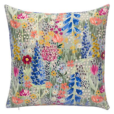John Lewis & Partners Flora Velvet Cushion