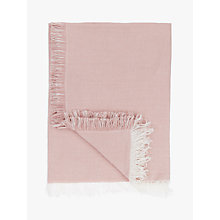 Buy John Lewis Linen Chambray Throw Online at johnlewis.com