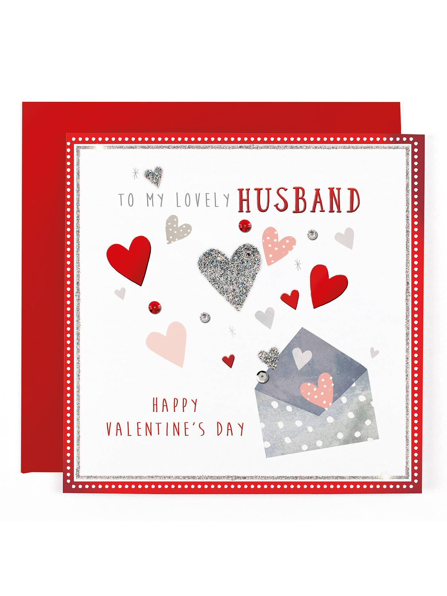 Hotchpotch Husband Valentines Day Card At John Lewis Partners