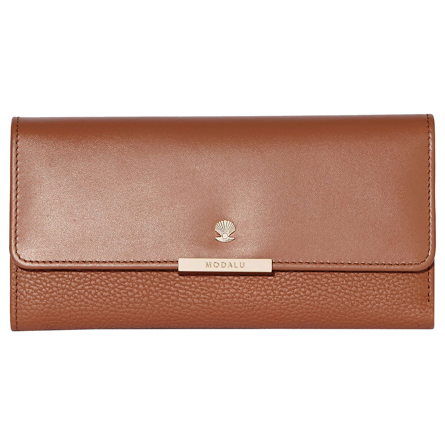 modula-margot-leather-dropdown-purse,-tan by modalu
