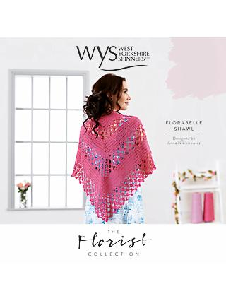 West Yorkshire Spinners Florabelle Shawl Crochet Pattern