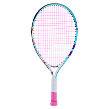 "Buy Babolat Butterfly 21"" Junior Tennis Racket, 6-8 Years, Multi Online at johnlewis.com"