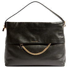 Buy Karen Millen Leather Chain Zip Cross Body Bag Online at johnlewis.com
