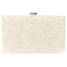 Buy Phase Eight Ceri Embroidered Clutch Bag, Cream Online at johnlewis.com