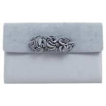 Buy Phase Eight Ophelia Flower Clutch Bag, Cornflower Blue Online at johnlewis.com