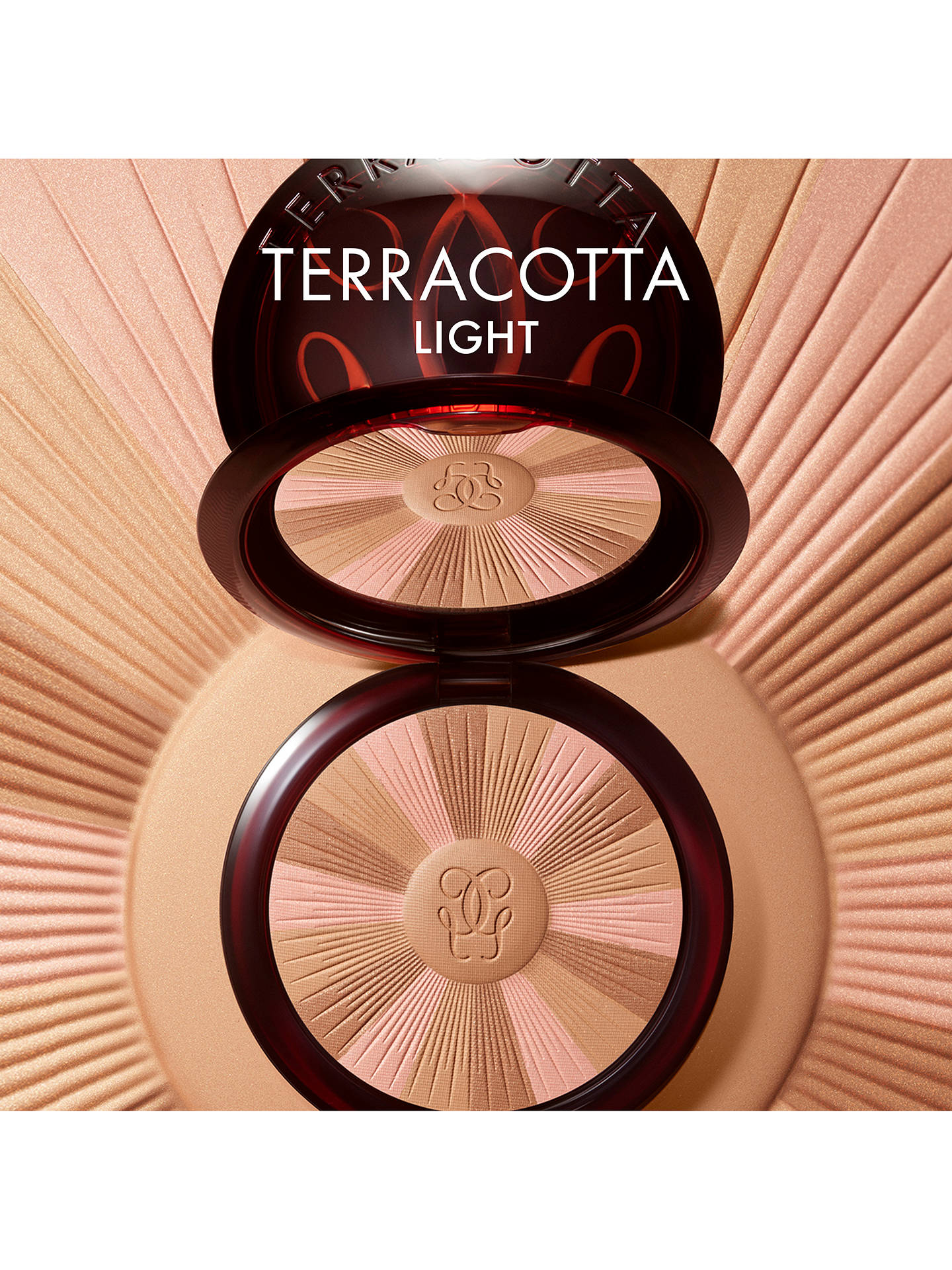 Buy Guerlain Terracotta Light The Healthy Glow Vitamin-Radiance Bronzer, 05 Deep Cool Online at johnlewis.com