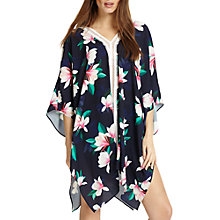 Buy Phase Eight Magnolia Print Kaftan, Navy/Multi Online at johnlewis.com