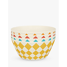 Buy LEON Bamboo Picnic Bowls, Assorted, Dia.9cm, Set of 4 Online at johnlewis.com