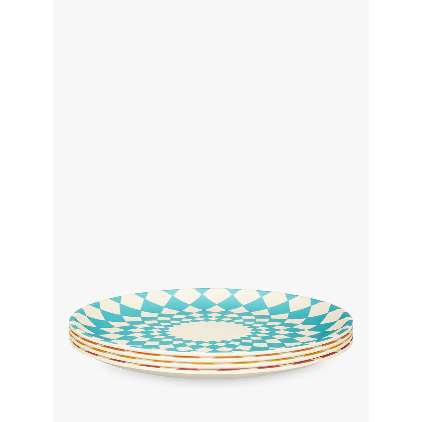 ... BuyLEON Bamboo Picnic Plates Assorted Dia.25cm Set of 4 Online at ...  sc 1 st  John Lewis & LEON Bamboo Picnic Plates Assorted Dia.25cm Set of 4 at John Lewis