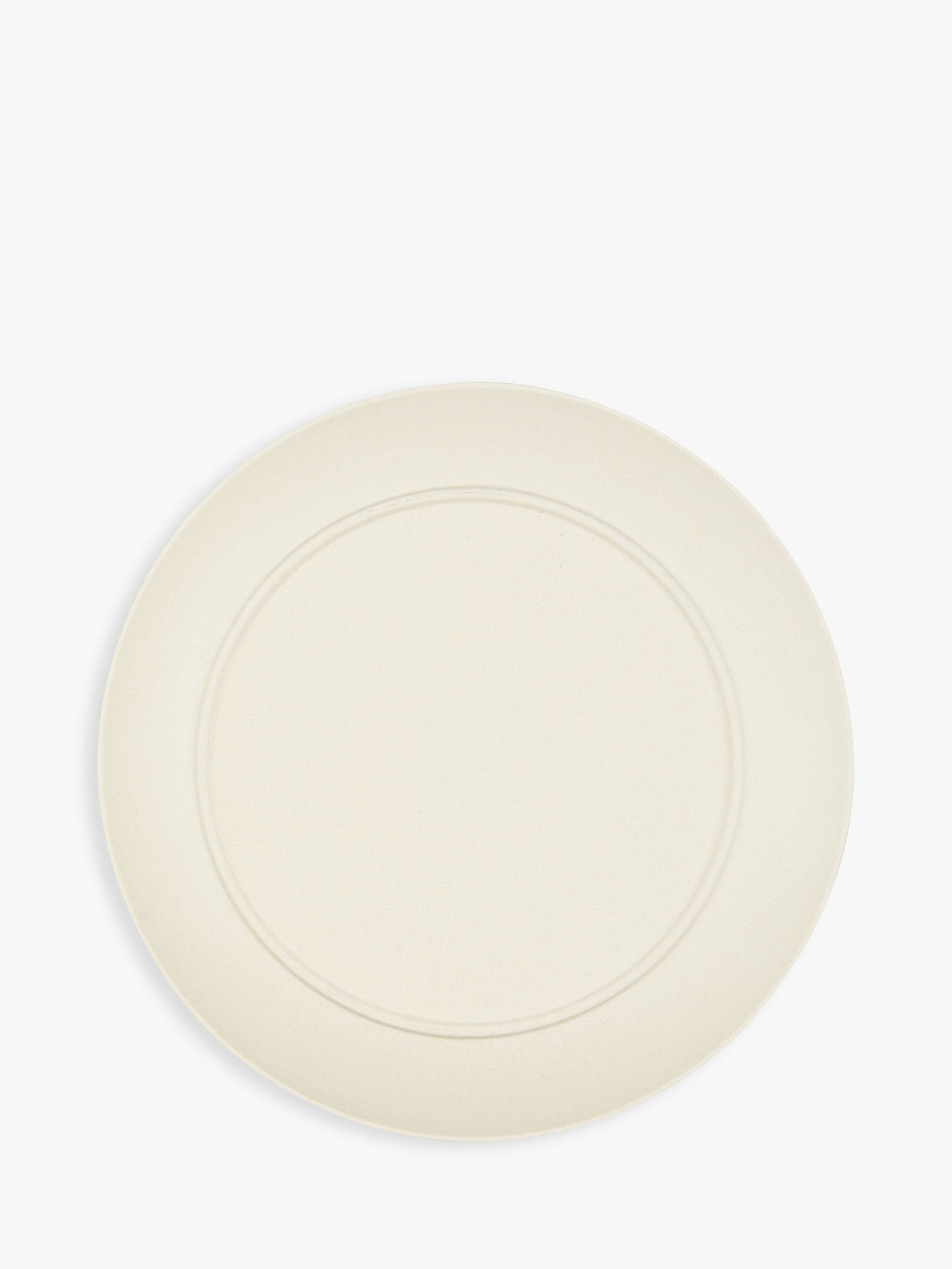 Buy LEON Bamboo Picnic Plates, Assorted, Dia.25cm, Set of 4 Online at johnlewis.com