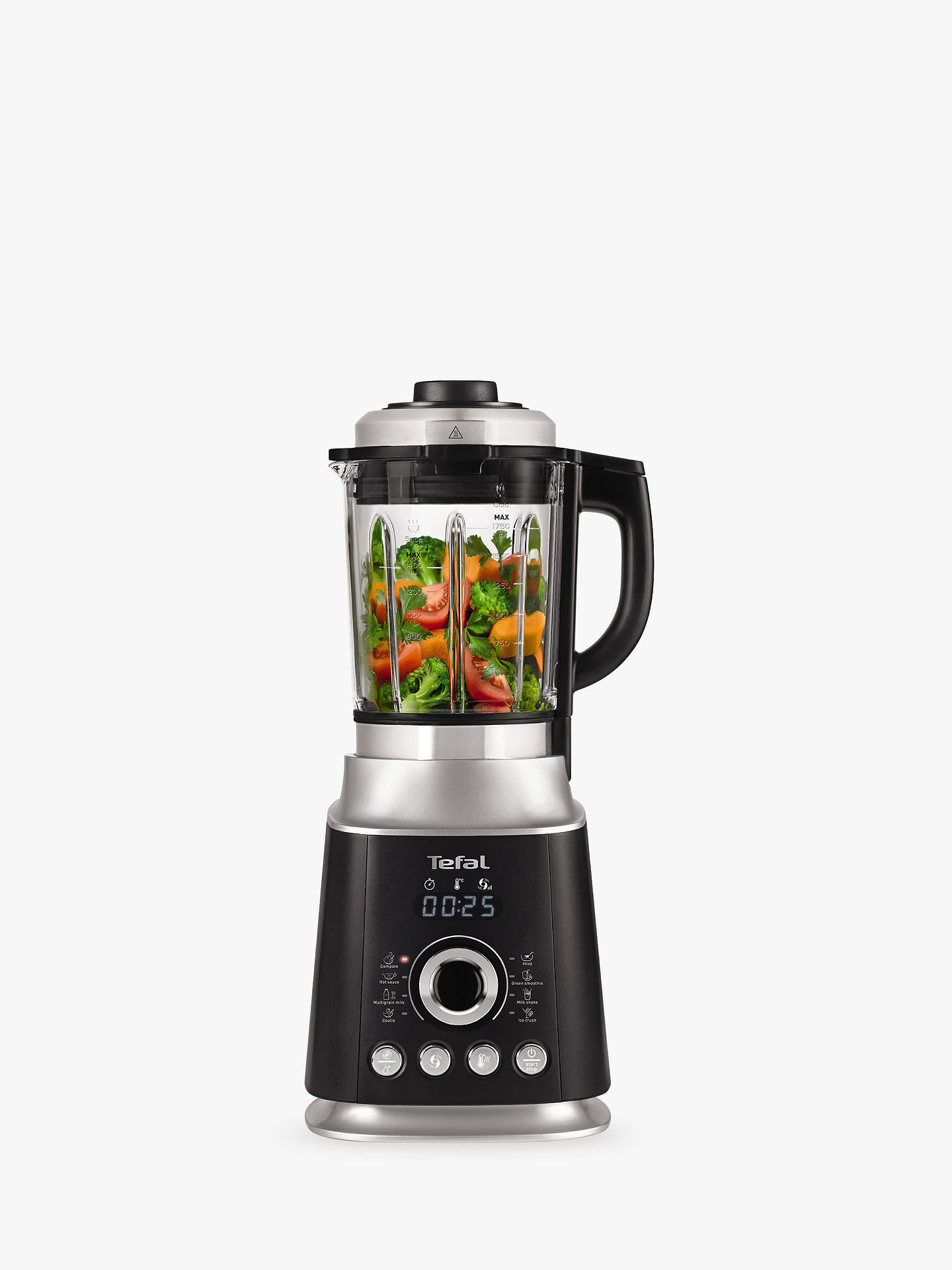 Buy Tefal Ultrablend Cook Hi-Speed Blender, Black Online at johnlewis.com