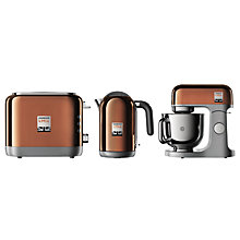Buy Kenwood kMix Stand Mixer, Toaster and Kettle Bundle, Rose Gold Online at johnlewis.com