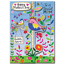 Buy Rachel Ellen Birds in Tree Mother's Day Card Online at johnlewis.com