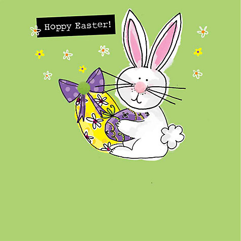 Buy saffron cards and gifts bunny and egg easter greeting card buy saffron cards and gifts bunny and egg easter greeting card online at johnlewis negle Choice Image