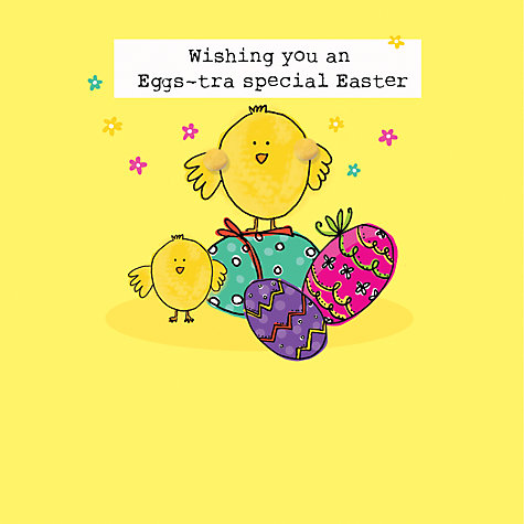 Buy saffron cards and gifts chicks and eggs easter greeting card buy saffron cards and gifts chicks and eggs easter greeting card online at johnlewis negle Choice Image