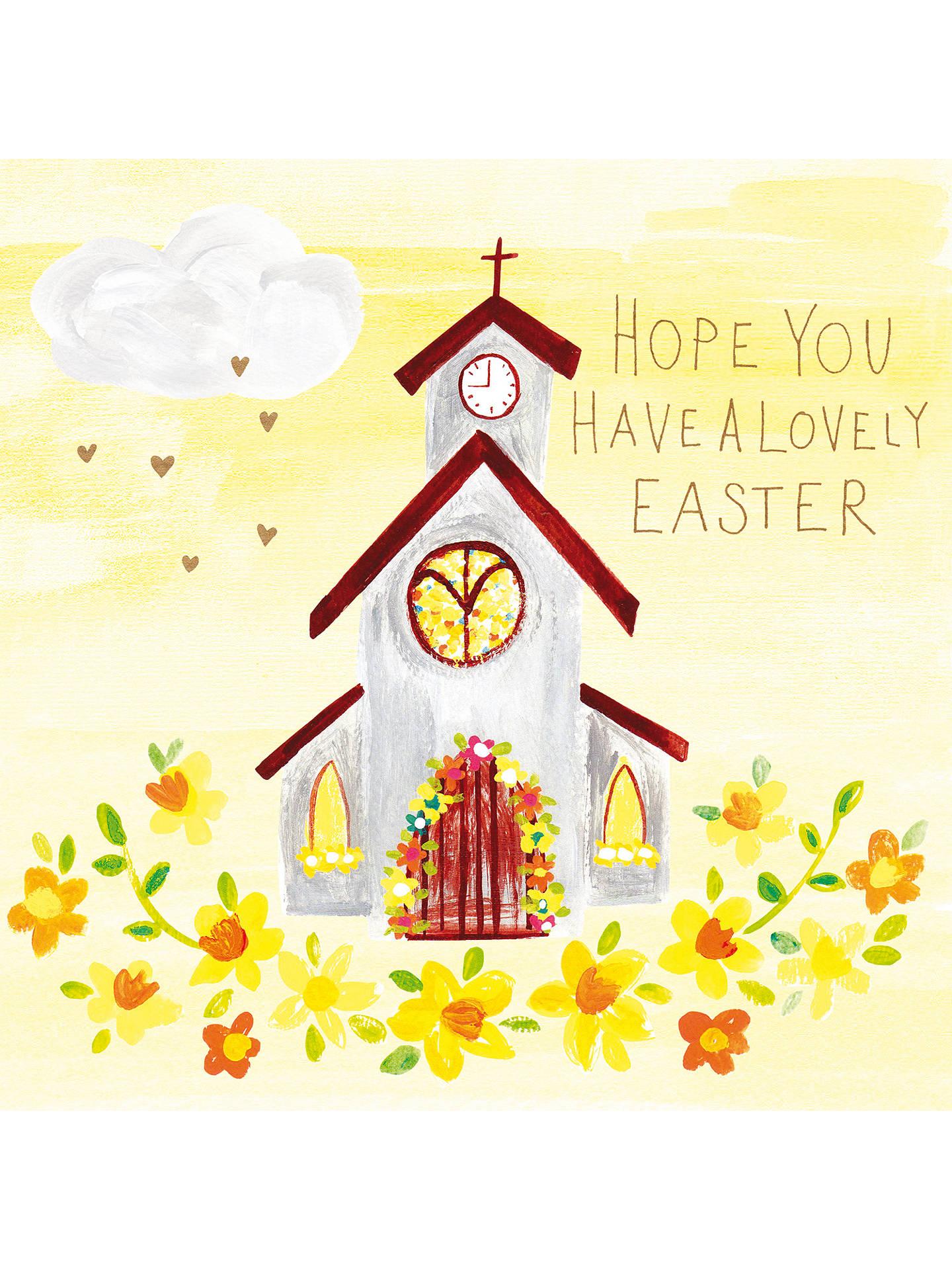 Paper Salad Easter Church Greeting Card At John Lewis Partners