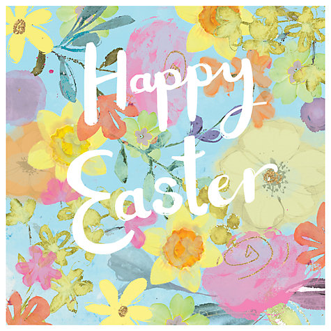 Buy hammond gower easter floral greeting cards pack of 8 john lewis buy hammond gower easter floral greeting cards pack of 8 online at johnlewis negle Choice Image