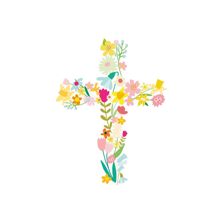 John Lewis Flowers Caroline gardner flowers cross easter greeting card at john lewis buycaroline gardner flowers cross easter greeting card online at johnlewis sisterspd