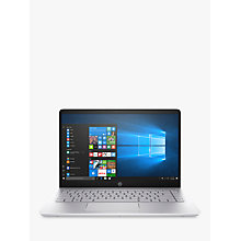 "Buy HP Pavilion 14-bf103na Laptop, Intel Core i7, 8GB RAM, 256GB SSD, 14"", Silver Online at johnlewis.com"