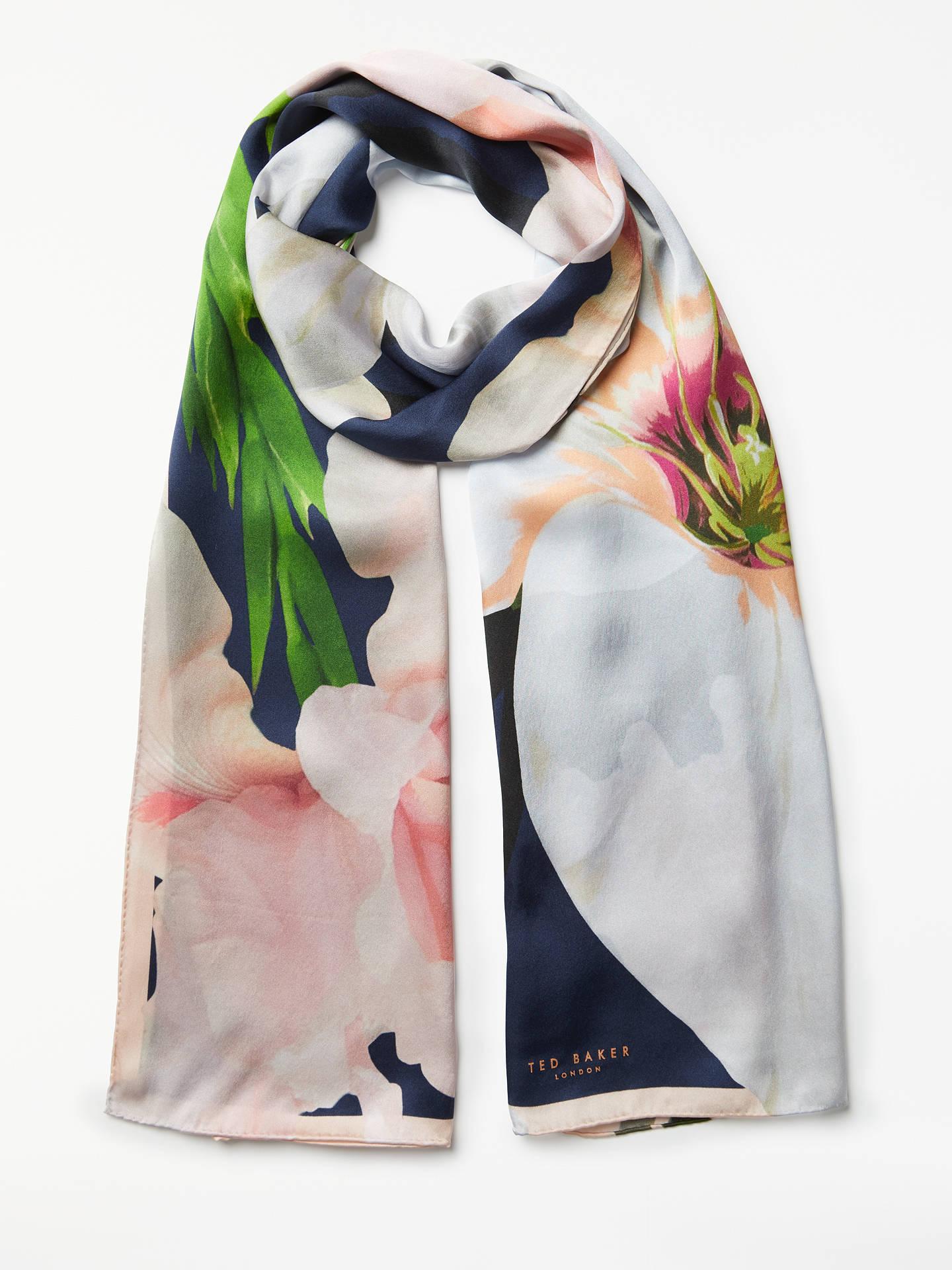 caa52b1e5 Buy Ted Baker Caniaa Chatsworth Bloom Long Silk Scarf