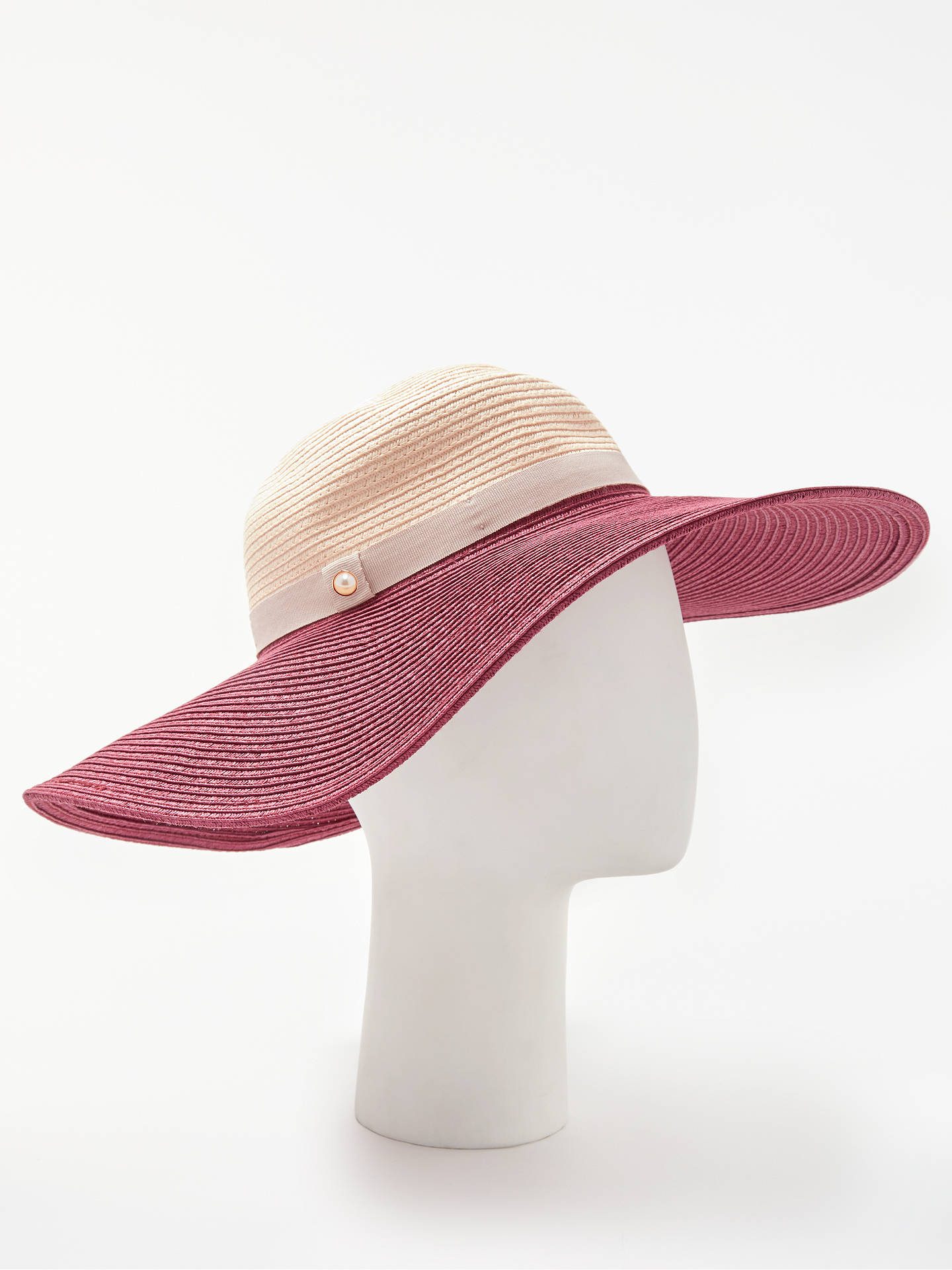 BuyTed Baker Alisae Colourblock Floppy Hat 1042fdc7d02
