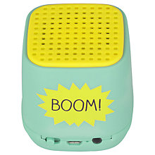 Buy Happy Jackson Boom Bluetooth Speaker Cube Online at johnlewis.com