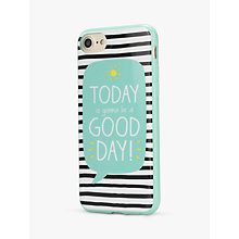 Buy Happy Jackson Good Day Case for iPhone 6/6S/7 Online at johnlewis.com