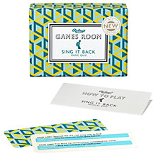 Buy Ridley's Sing It Back Games Room Online at johnlewis.com