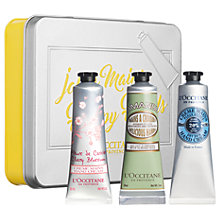 Buy L'Occitane Classic Hand Cream Trio Set Online at johnlewis.com