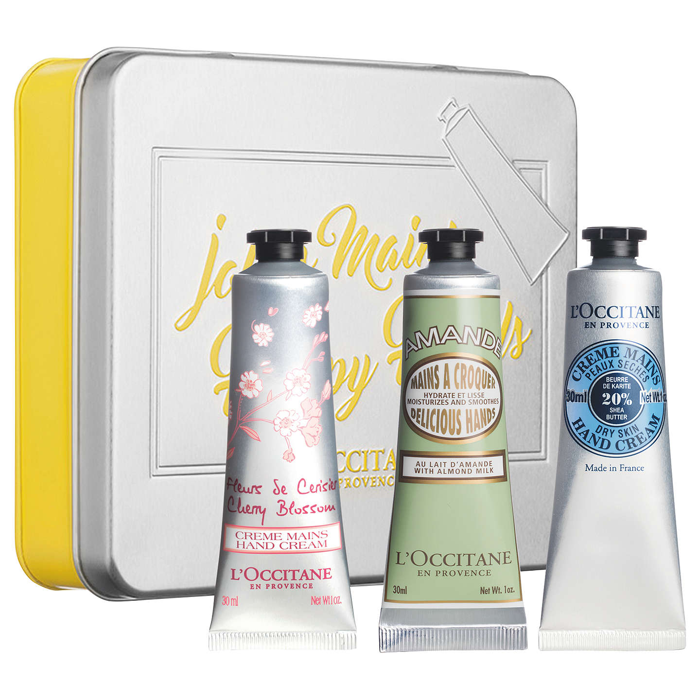 BuyL'Occitane Classic Hand Cream Trio Set Online at johnlewis.com