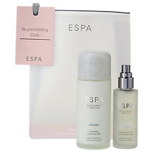 Buy ESPA Replenishing Skincare Duo Set Online at johnlewis.com