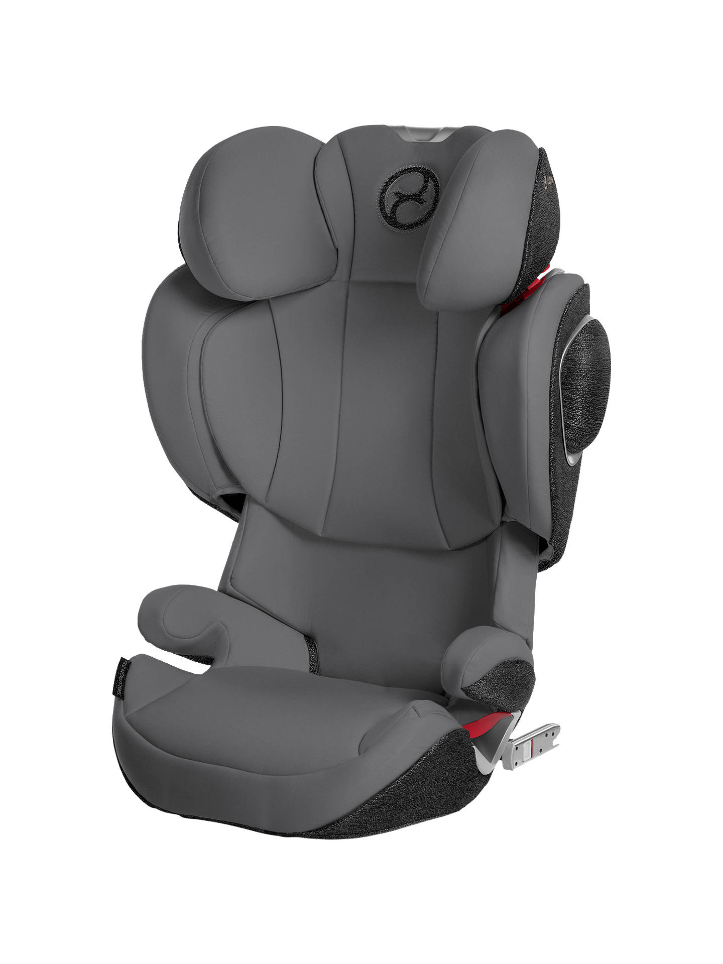 cybex solution z fix group 2 3 car seat manhattan grey at. Black Bedroom Furniture Sets. Home Design Ideas