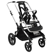 Buy Bugaboo Fox Pushchair Base Unit, Aluminium Online at johnlewis.com