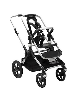 Bugaboo Fox Pushchair Base Unit, Aluminium