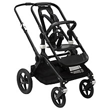 Buy Bugaboo Fox Pushchair Base Unit, Black Online at johnlewis.com