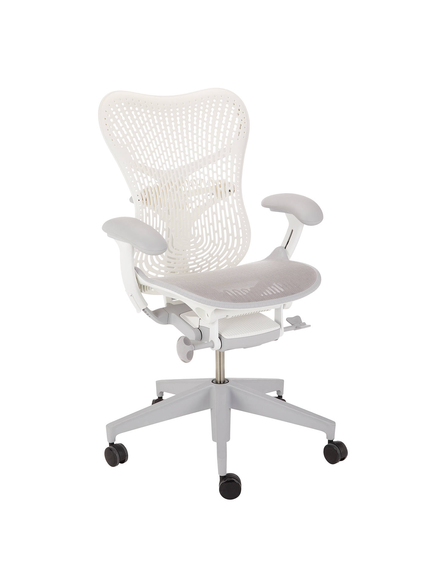 BuyHerman Miller Mirra 2 Triflex Office Chair, White Online at johnlewis.com
