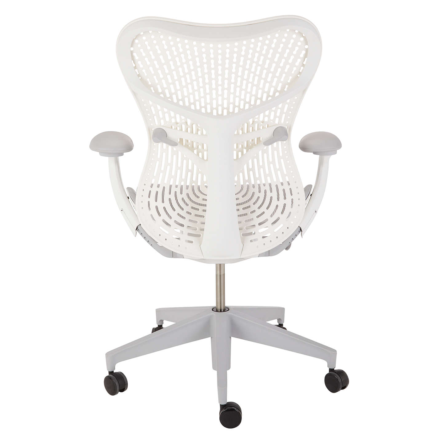 BuyHerman Miller Mirra 2 Triflex Office Chair, Grey Online at johnlewis.com