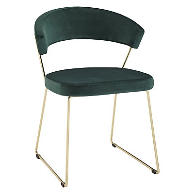 Connubia by Calligaris New York Velvet Dining Chair