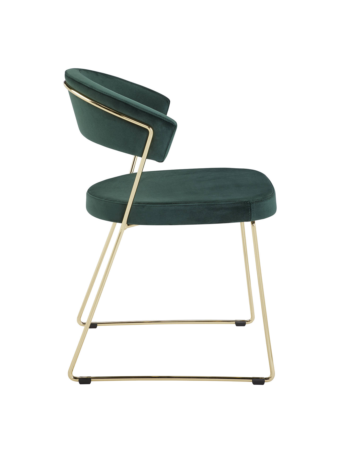 Green and Gold Dining Chair