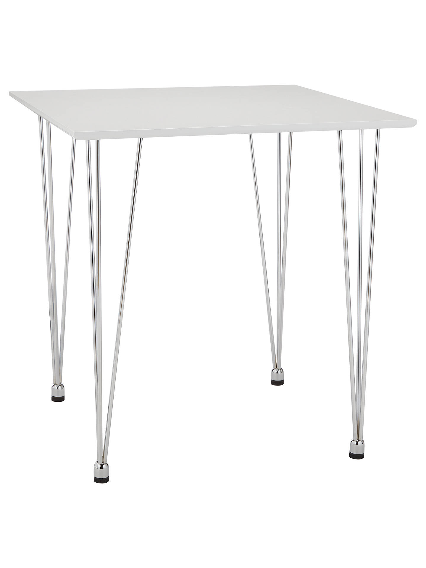 BuyHouse By John Lewis Jasper 2 Seater Square Dining Table, White Online At  Johnlewis.