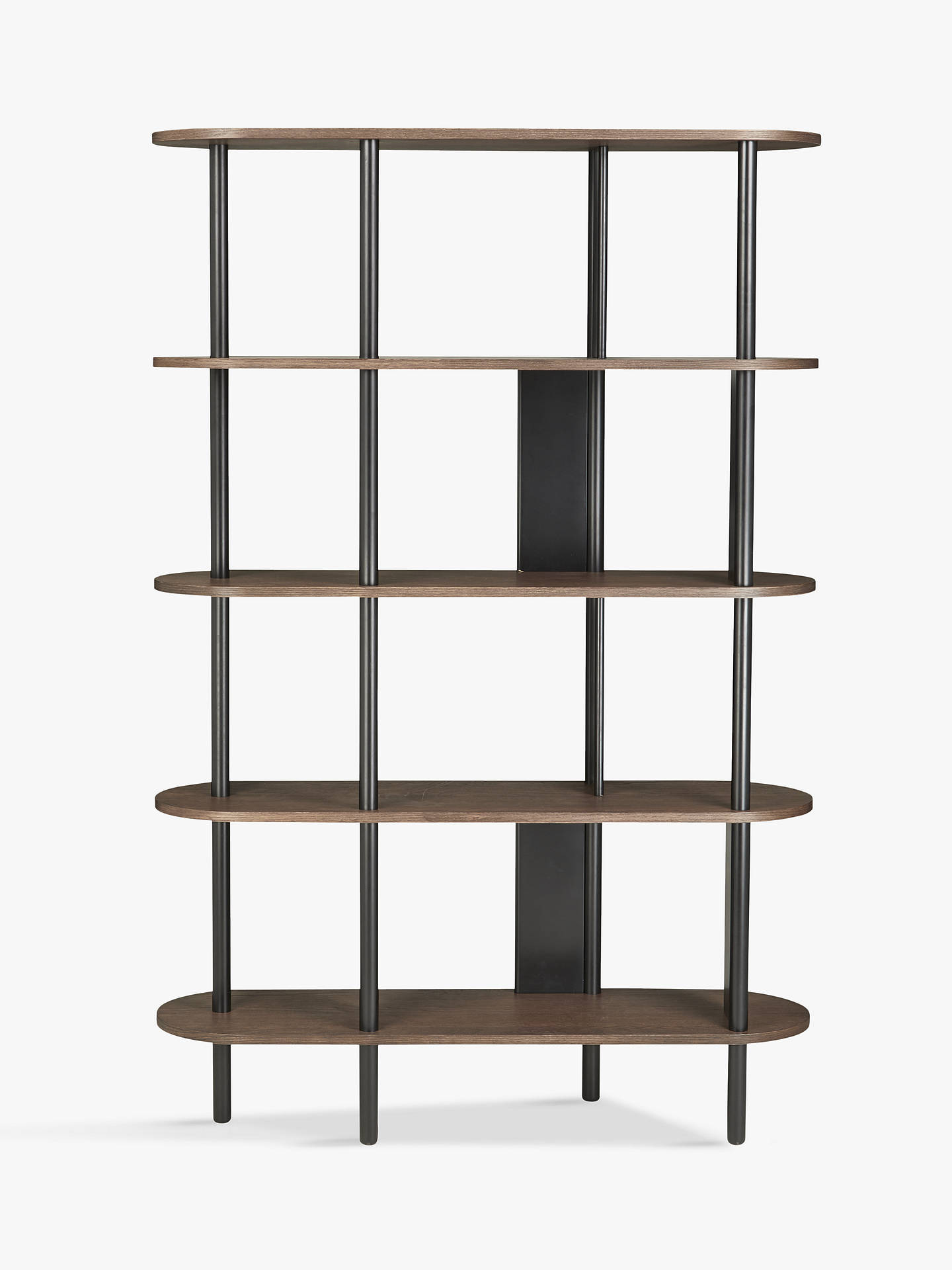 Buy John Lewis & Partners Yoko Shelving Unit, Dark Oak Online at johnlewis.com