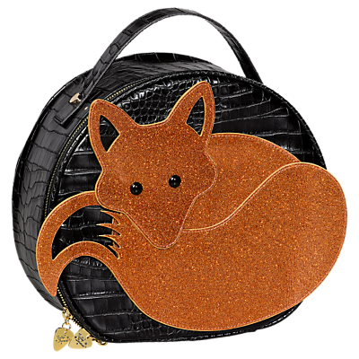 Tatty Devine Fox Vanity Case, Black