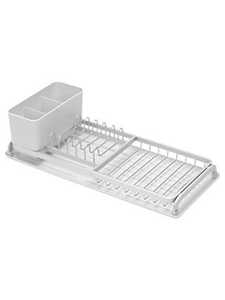 Brabantia Compact Dish Rack, Light Grey